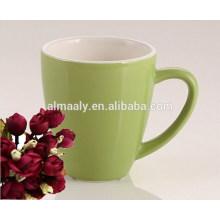 wholesale colored glazed porcelain mug