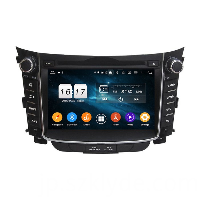 Hot bluetooth car radio for I30