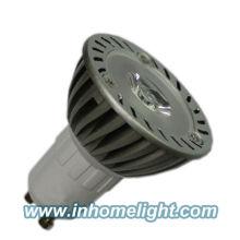 CE & ROHS aprovado alumínio 3W GU10 levou spot lâmpada