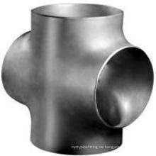 ASTM A403 Wp304, Wp304L, Wp316, Wp316L Flansch-Fitting-Kreuz