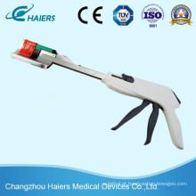 Grampeador descartável curvo cortador para Holecystectomy laparoscópica