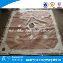 Tejido de polipropileno para tela filtrante