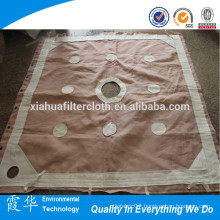 Polypropylene woven fabric for filter press cloth