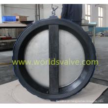 Válvula de retenção de tipo de bolacha de revestimento EPDM com Ce ISO aprovado