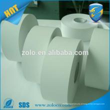 Atacado em branco casca de ovo adesivo rolo etiqueta de casquinha de vinil etiqueta em branco papelão rolo de papel