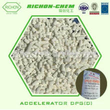 Precio de fábrica para la materia prima de las sustancias químicas de goma 1,3-DIPHENYLGUANIDINE Acelerador D Acelerador de goma DPG