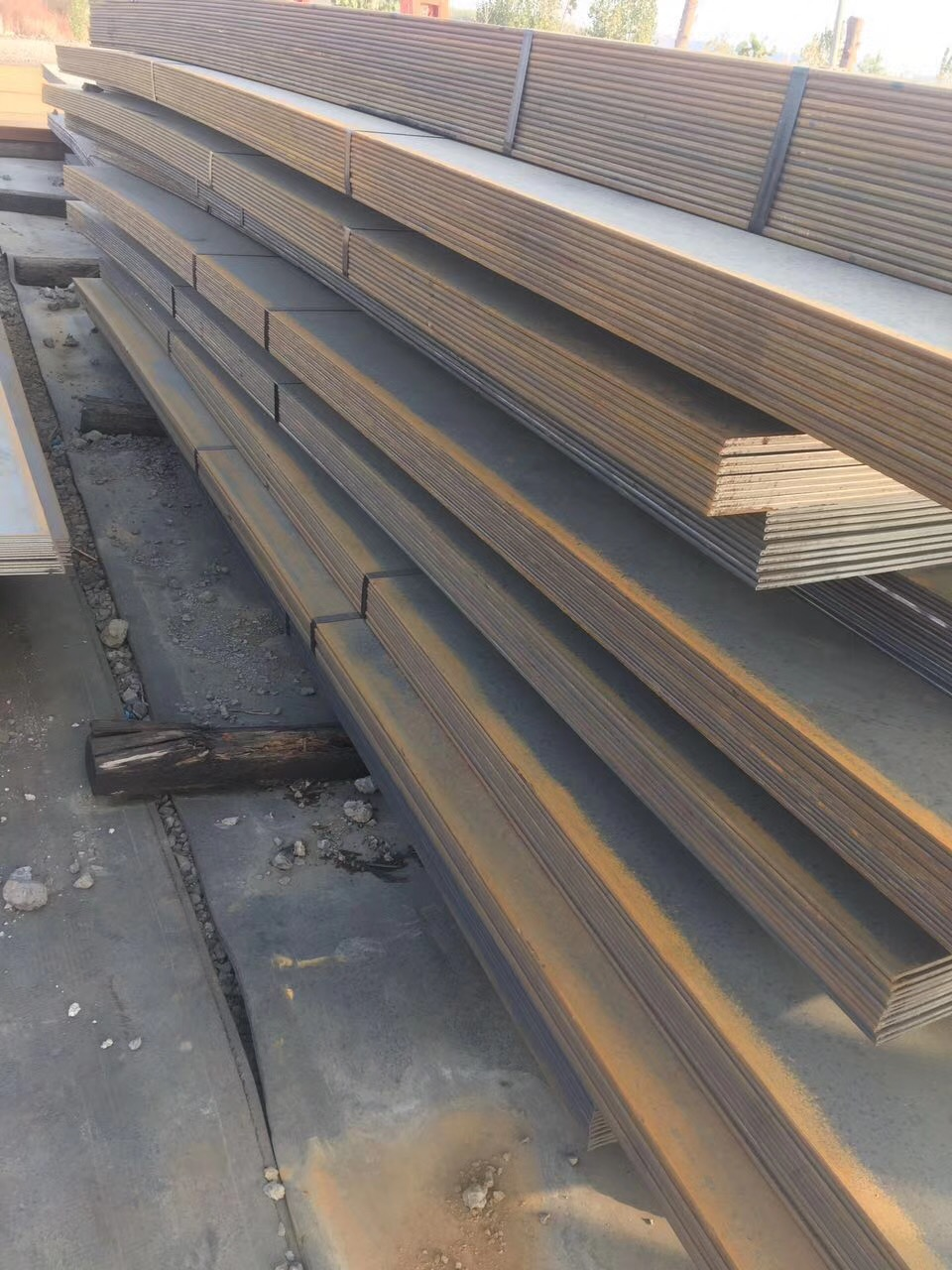 Hot rolled low alloy S355 S355JR steel plate