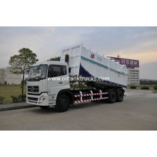 6x4 11.3ton Hydraulic Garbage Dump Truck , Garbage Collection Vehicles