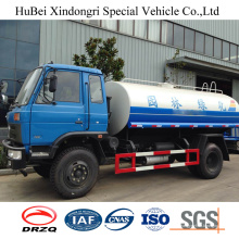 9ton 9cbm Dongfeng Euro IV Front Flush Wasser Sprinkler Tankwagen