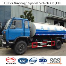 9ton 9cbm Dongfeng Euro IV Front Flush Water Sprinkler Tank Truck