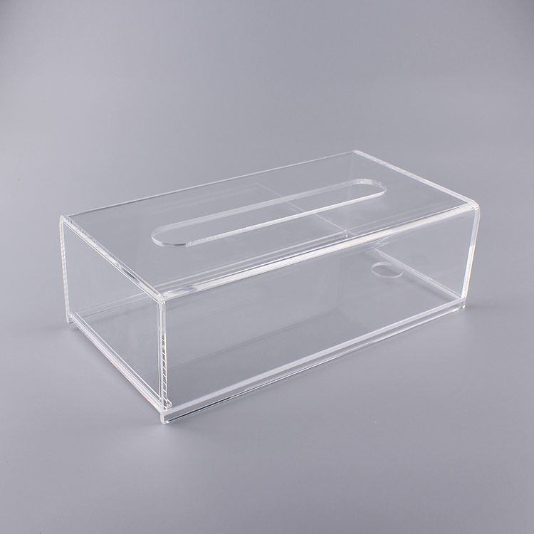 High Quality Clear Acrylic Cut Desk Organizer
