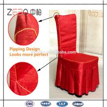 100% poliéster Linens Fábrica de venda direta Cheap Party Chair Covers
