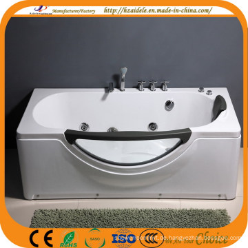 CE ISO9001 Rectangle Indoor Whirlpool Badewanne mit Glas (CL-320)