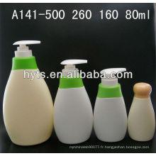 Bouteilles en plastique de HDPE 500ml