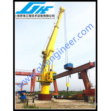 Electrical Hydraulic Offshore Marine deck Crane