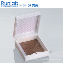 Slide Microscope Storage Boxes with 25 Place