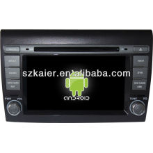Android System car dvd player for Fiat Bravo with GPS,Bluetooth,3G,ipod,Games,Dual Zone,Steering Wheel Control