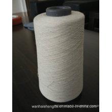 Fil 100% pur de lin de fibre de lin pour le tissage
