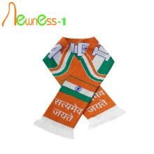 Football Club Knitted Custom Soccer Scarf With Logo Design