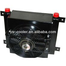 Refrigerador de aceite de aleta de placa de aluminio para camión de hormigón