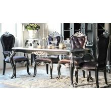Maison de Style néo-classique Table de salle à manger en bois (1205)