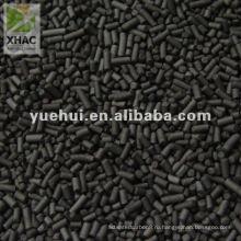 2,5 мм цилиндрический уголь на основе активированный уголь для носителя катализатора или катализатора DZ25