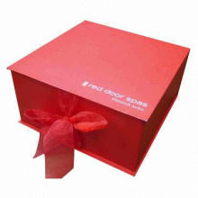 Rigid Tea Gift Box, Made of 128g Coated Paper, Small Orders are Welcome