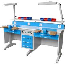 TPM-Lt6 trabajador doble mesa de trabajo de Laboratorio Dental