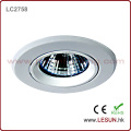 White Housing MR16 Metal Halide Lamp Ballast! 50W HID Ceiling Metal Halide Light for Jewelry Shop (LC2758)