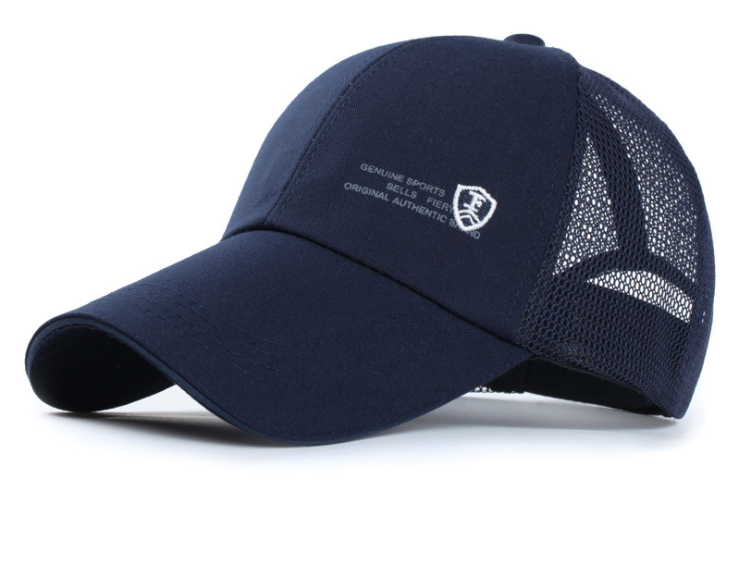 Mesh Golf Cap Navy