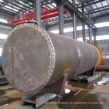 Intercambiador de calor de tubos industriales