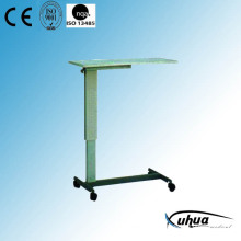 Hospital Furniture, Steel Painted Hospital Overbed Table (L-5)