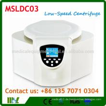 MSLDC03 Benchtop Niedriggeschwindigkeitszentrifuge mit TFT True-Color LCD Touch Monitor