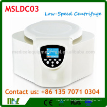 MSLDC03 Benchtop Low Speed Centrifuge with TFT True-color LCD Touch Monitor