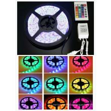 Luz de tira flexível impermeável do RGB de 12V SMD5050