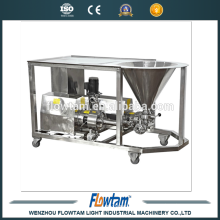 Máquina de dosagem emulsificadora de líquidos e em pó