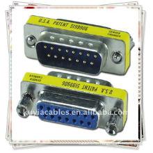 NEU 15 Pin VGA SVGA Stecker auf Buchse Steckverbinder Adapter / VGA Adapter