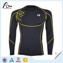 Ropa interior de compresión estampada Sports Men Compression Jersey