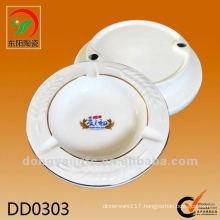 customized round ceramic ashtrays for hotels