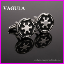 VAGULA Quality Silver Star War Cufflinks (HL10134)