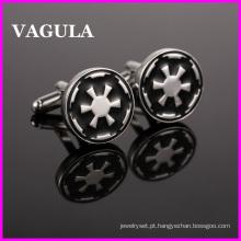 VAGULA qualidade abotoaduras de guerra de estrela de prata (HL10134)