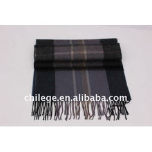 Men cashmere scarf winter men scarf checked men scarf stoles and shawls fleece set