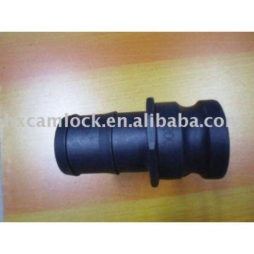 PP Male Hose Shank Camlock Adapter Type E