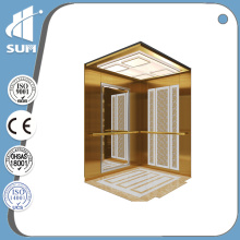 Speed 0.4m/S Luxury Decoration Small Home Elevator for Villa