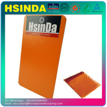 Orange Wrinkle Effect Finish Electrostatic Spray Paint Polyester Resin Texture Powder Coating