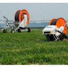 smart small hose reel irrigation system