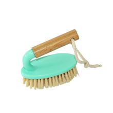 Escova de limpeza de madeira quente durável personalizada das vendas 9,5 * 12,5 do assoalho