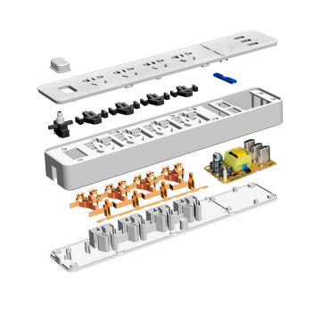 Итальянский настенный Выключатель гнездо с 4 портами USB гнездо/гнездо пола