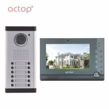 Apartamento Video Intercom System for 6 apartment