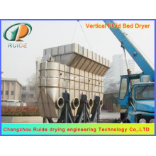 secador de grãos de milho / secador de leito fluidizado vibratório